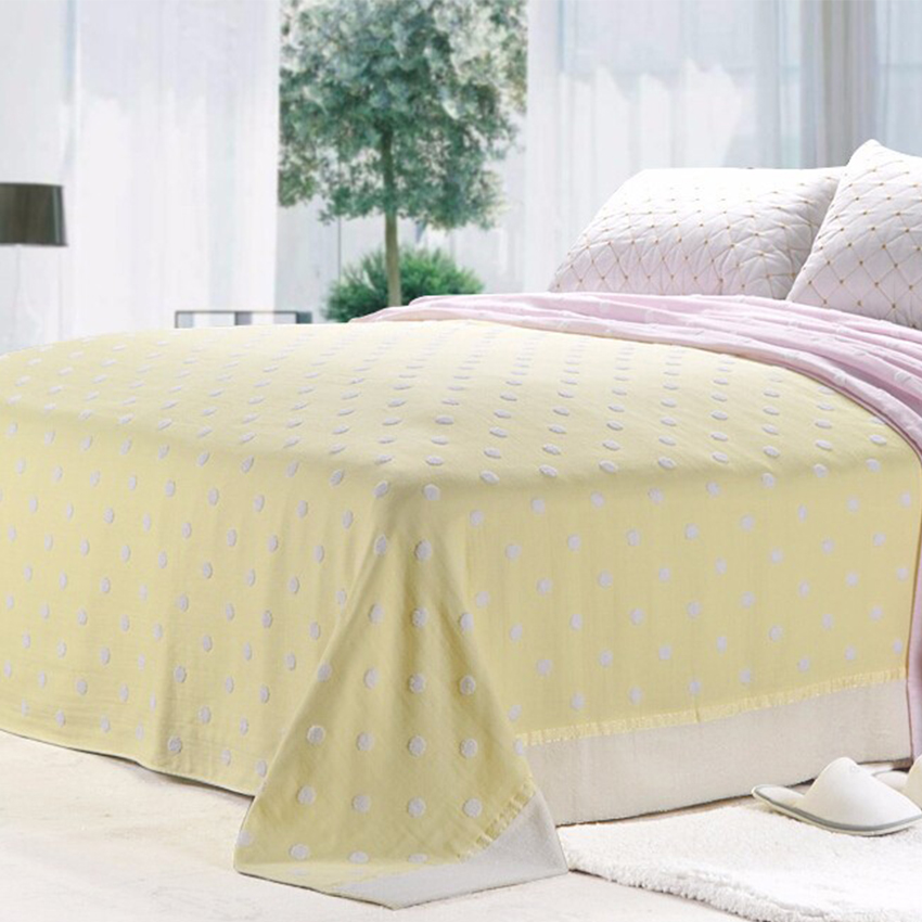 Beroyal Brand 100 Cotton Blankets Terry Vintage Throw Blanket Single On Bed Travel Hometextile Sheets 140cmx190cm