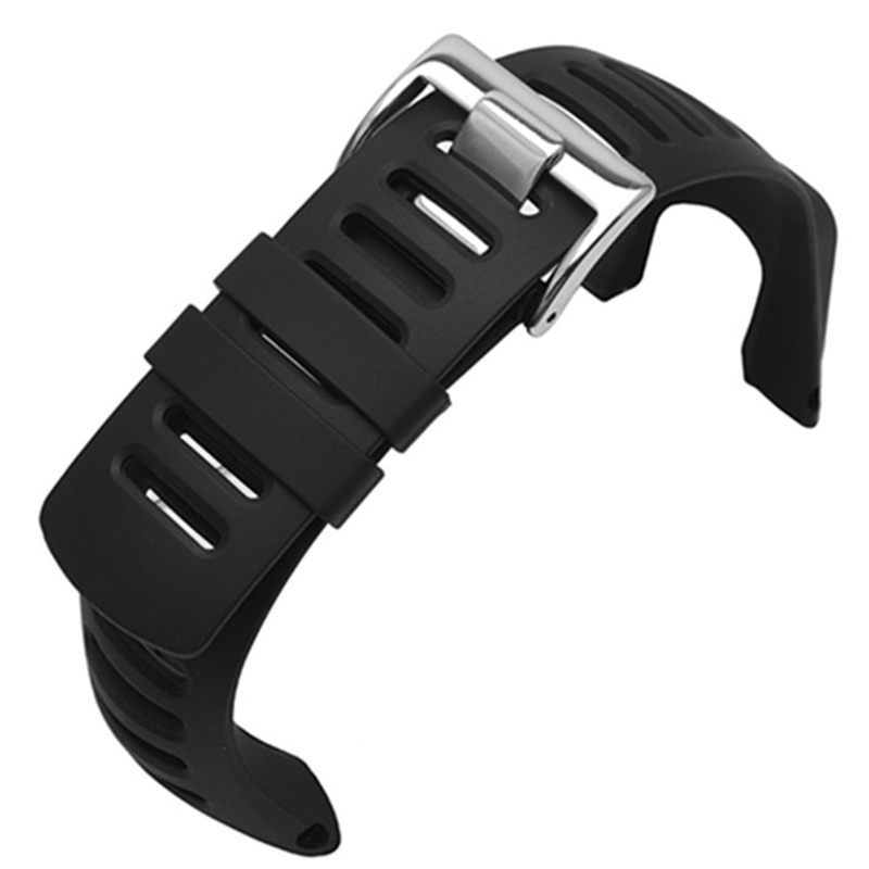 Watch Accessories High-grade Rubber Strap Replace For SUUNTO Extension Wild AMBIT Series 1- 2 -3 Generation Men's Watch Strap