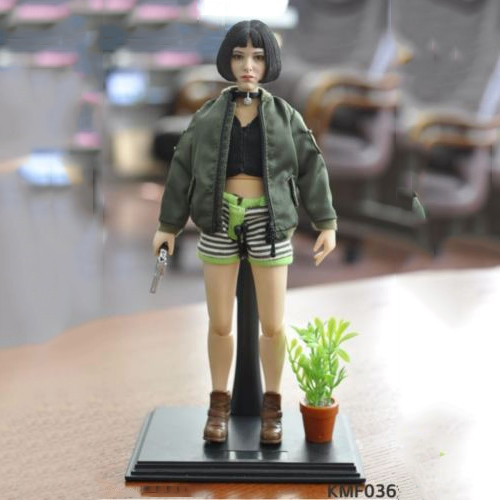 1/6 Natalie Portman Leon Mathilda Girl Action Figure KMF036 Collectible Model Toys natalie chaize шорты natalie chaize