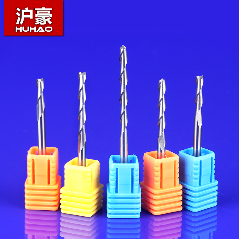 1pc 3.175mm SHK AA Series PCB Aluminum Plate Cutters 2 Flutes Aluminum Milling Tools