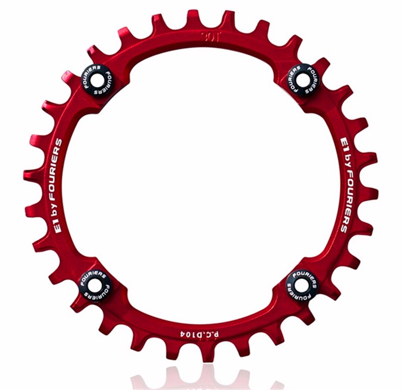 FOURIERS Mountain Bicycle Parts AM FR DH Chainwheel Crankset 30t 32t 34t 36t 38t 40t Chainring