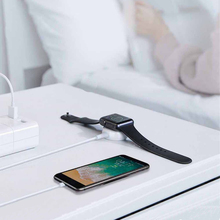 2 in 1 Fast Wireless Charger for Apple watch 1/2/3/4 USB wirless charging 1m Cable iPhone 5 6 7 8 X/plus max
