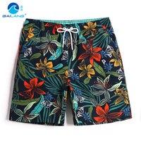Men's bathing suit board shorts hawaiian bermudas liner quick dry swimsuit beach shorts joggers plavky surfing swimwear mesh