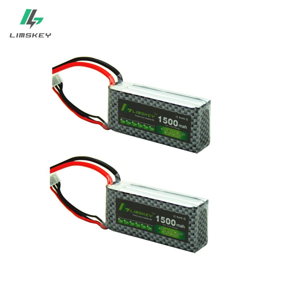 Limskey POWER 3S 11.1V 1500MAH T/XT60 Remote control model aircraft battery manufacturers 3S Li-po 11.1 v Lipo battery 2pcs/lot