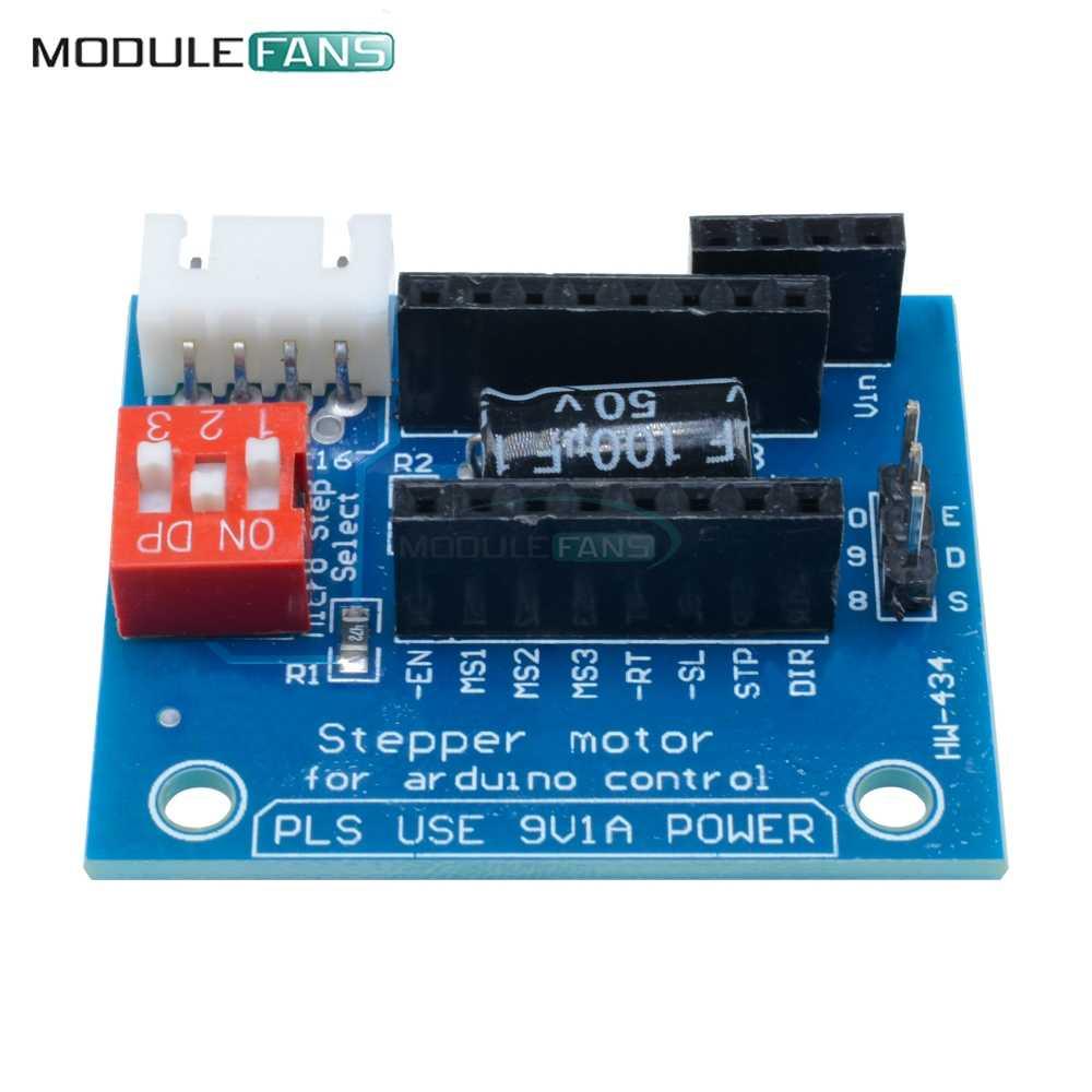 1 Pcs A4988 DRV8825 Placa Do Painel de Controle Do Driver de Motor de Passo Módulo Placa de Expansão V1.1 Componente Ativo Para 3D Impressora