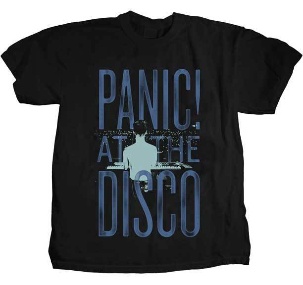 Gildan PANIC AT THE DISCO Crowd Stack T Shirt tu camiseta