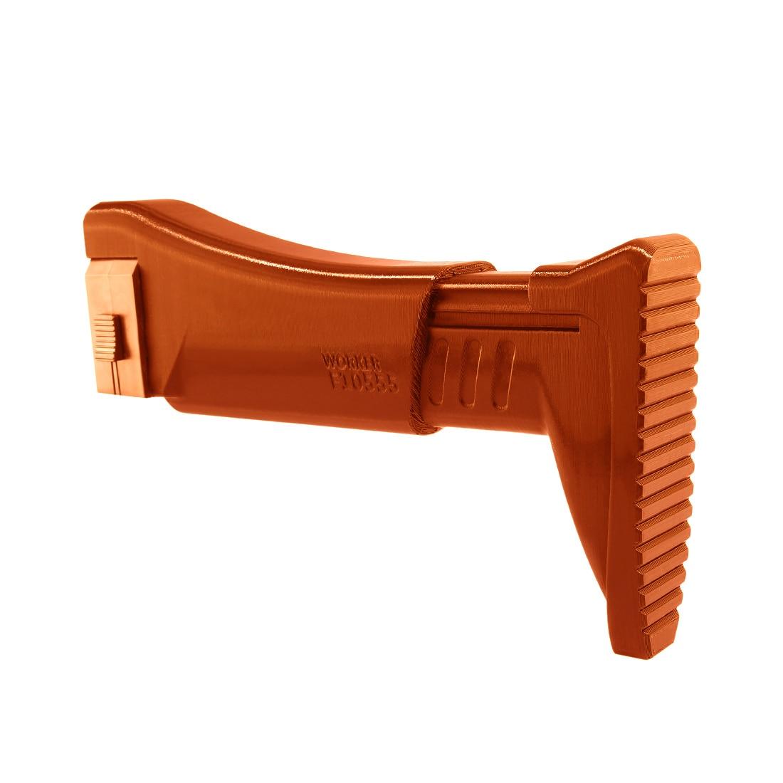 Peças de Armas de alta Recomendar Trabalhador F10555 3D Impressão NO. 116 UM Estoque Para Nerf-Laranja