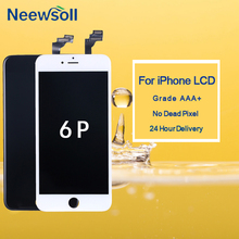 10pcs/lot 100% Tested For iPhone 6 Plus LCD Touch Screen Digitizer Assembly For iPhone 6 Plus Display Replacement 10pcs free dhl tracking no 100% tested fir brand new 5 5 for iphone 6 plus lcd screen display digitizer assembly white black