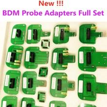 Adaptadores de sonda bdm para KTAG KESS, conjunto completo de Marco LED BDM ECU, adaptadores de sonda BDM, programador ECU de Marco BDM, 22 Uds.