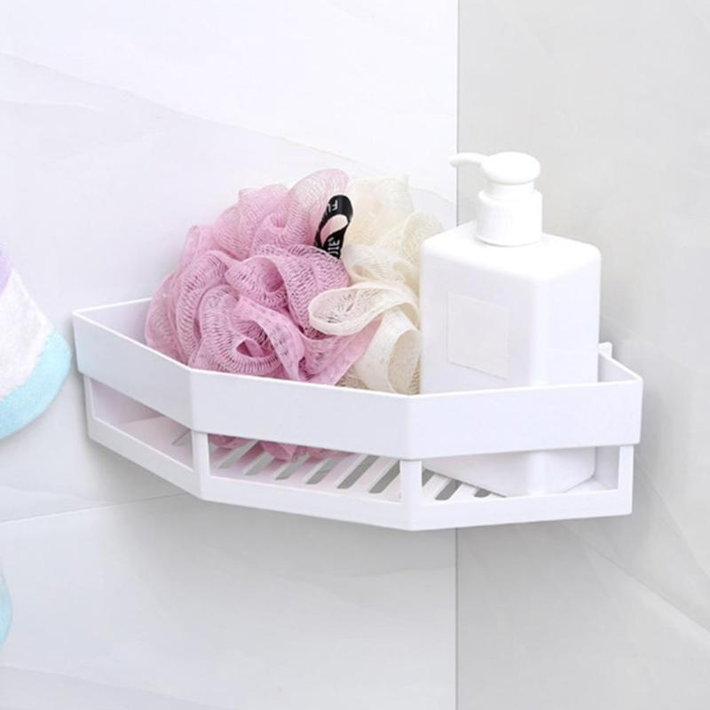 Image 5 - Single Wall Mounted Sink Type Kitchen Storage Holder Bathroom Holder for Kitchen Shelves for Bathroom Wall Shelf Shelving-in Storage Holders & Racks from Home & Garden