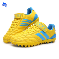 Size 30 37 TF Turf Kids Soccer Shoes Top Quality Boys Football Boots Hard Count Trainning
