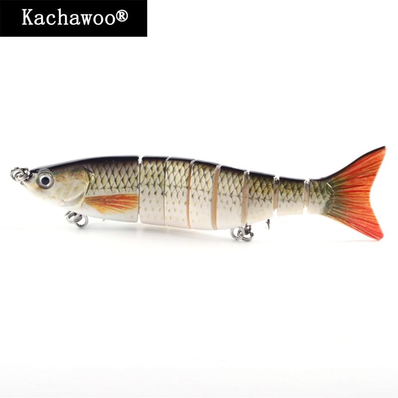 Swimbait Makrele Thunfisch 7 zoll 55g Multi Gelenk Angeln Locken 8 Abschnitt Segment Bass Harten Künstliche Fisch Köder für meer Salz Wasser