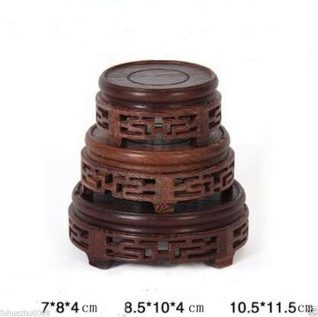 New Red Suan Zhi Wood Rosewood China High Low Style Stand Display