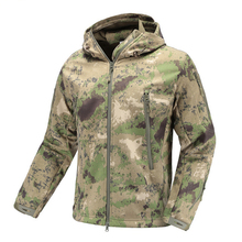 Military Tactical Jacket Lurker Shark Skin Soft Shell men Windbreaker Army Camouflage Waterproof Hooded Camo Hunt