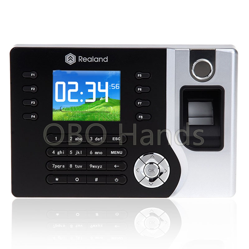 Realand AC071Digital Electronic Reader fingerprint biometric time attendance system recorder USB Office Time Clock Support ID free shipping realand 3 2 tft biometric fingerprint time attendance system recorder clock support id card tcp ip