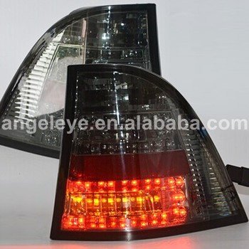 1998-2004 year For BMW for W163 ML280 ML300 ML320 ML350 LED Rear Lights Taillamp  Smoke black SN