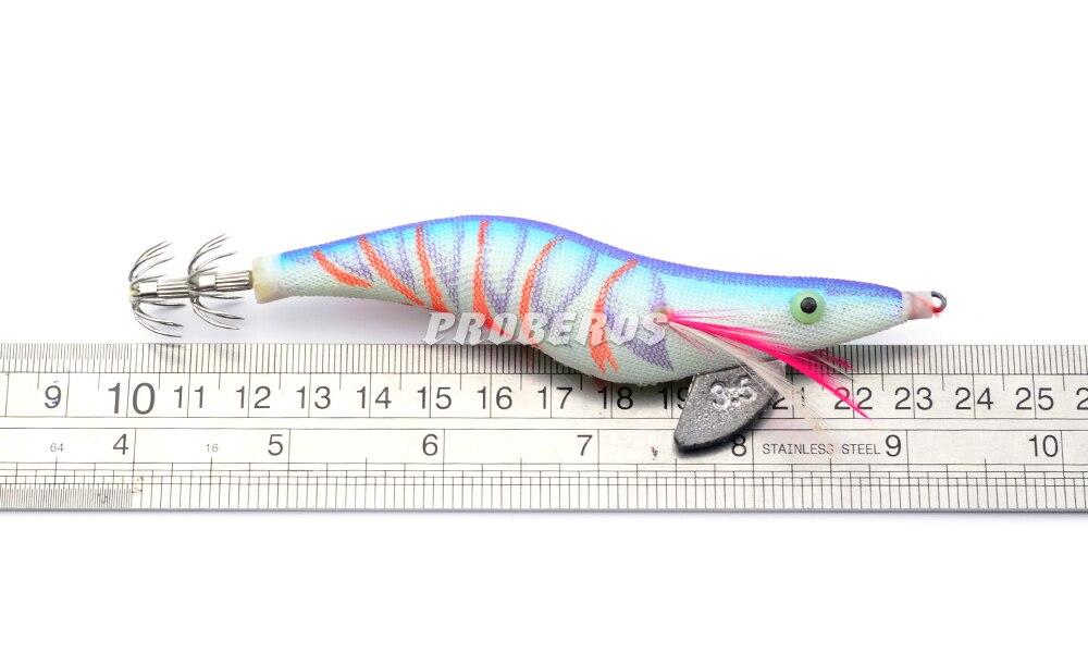 4 шт. Pro beros Рыбалка приманка Блесен экспортируется в США Рынок Рыбалка снасти 12 цветов 19.3 г/13.5 см рыбалка приманки 3.5 # крюк