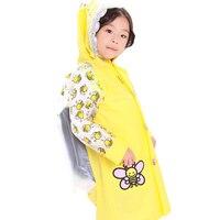 Pvc Rainwear Children Rain Coat Poncho Ourdoor Regenjas Chubasqueros Travel Impermeable Waterproof Kids Raincoat Sets QQG352