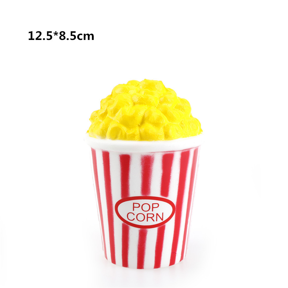 2020 Squishy Popcorn Icecream Milk French Fries Panda Scented Squishy Funny Gadgets Anti Stress Novelty Antistress Toys Gift Toy