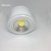 hot deal buy 4pcs led downlights 5w 7w led ceiling down lamp kitchen bathroom  led cob downlights lamp 5 years warranty time