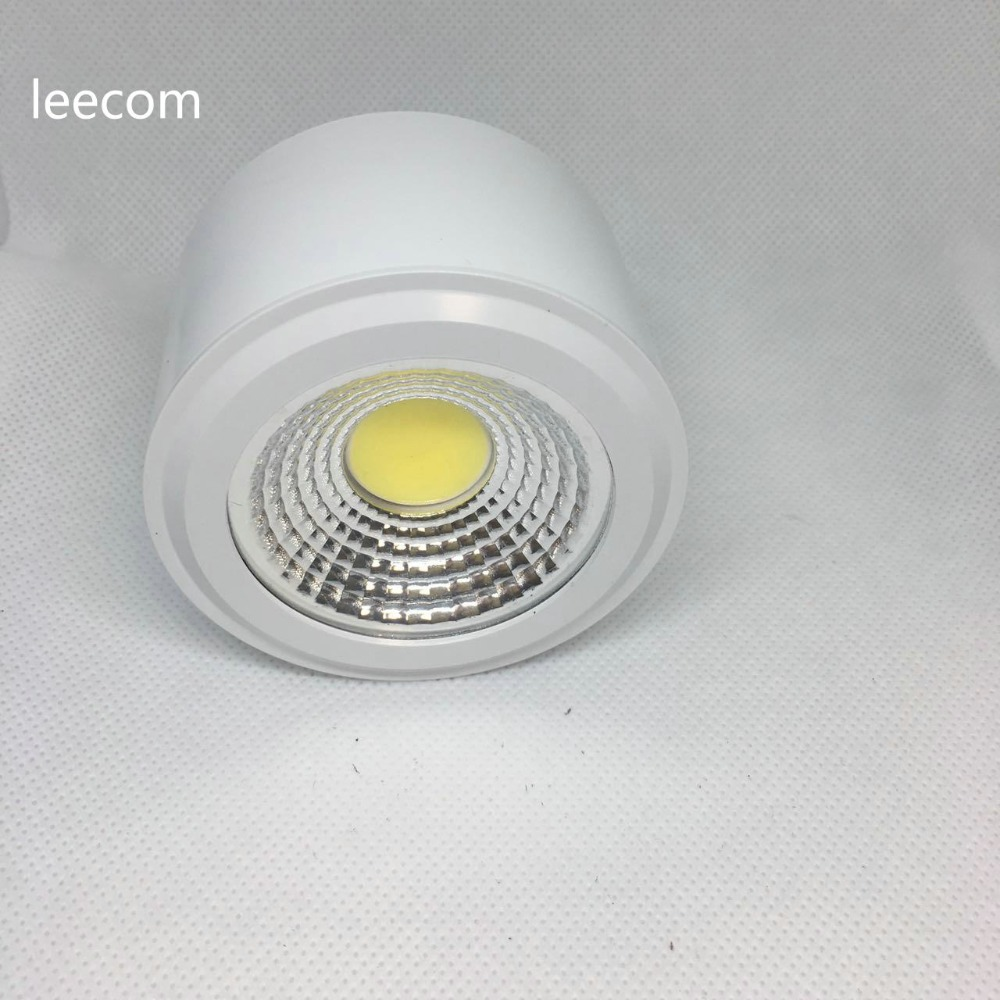 4pcs LED Downlights 5W 7W LED Ceiling Down Lamp Kitchen Bathroom LED COB Downlights Lamp 5 years warranty time
