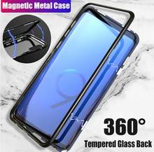 Magnetic Case For Samsung Galaxy S8 S9 S10 Plus S7 Edge Note 8 9 M10 M20 A30 A7 A9 A8 2018 Phone Case Coque For iPhone 7 8 X XS(China)