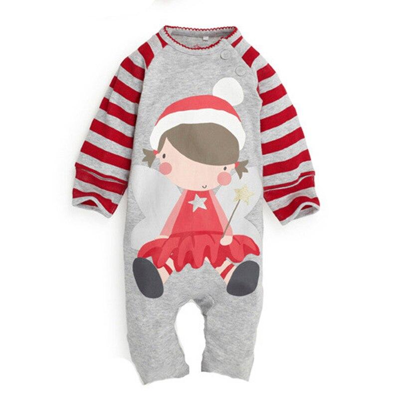Mamelucos de algodón para bebés Ropa de manga larga para bebés Ropa para bebés recién nacidos Ropa para bebés Niños Ropa para niñas Marcas Otoño Invierno