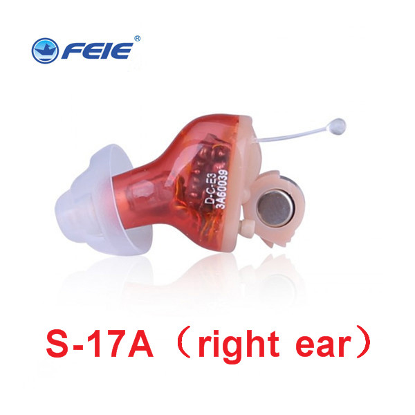 new hottest best Hearing aid amplifiers digital best sound earphone headset deaf-aid health care hearing aids freeshipping S-17A