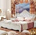 Высокое качество кровать Мода Европейский французский резной прикроватный 1 8 м кровать 9780
