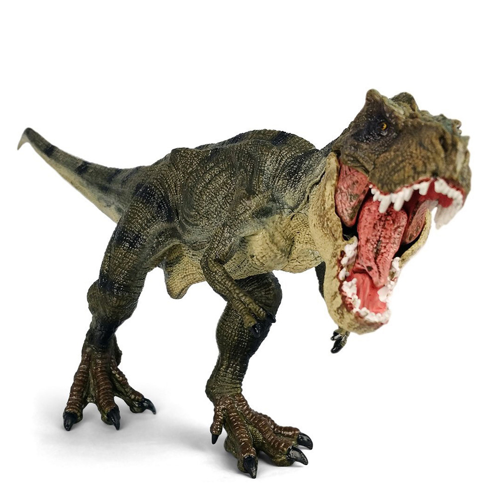 New Jurassic World Park Tyrannosaurus Rex Dinosaur Toy Figures PVC Toy Model Kids Gifts 37 cm tyrannosaurus rex with platform dinosaur mouth can open and close classic toys for boys animal model without retail box