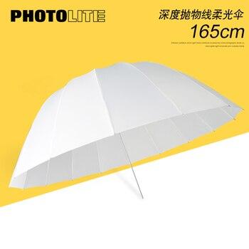65inch Deep white Flexible Umbrella 16 rob Photographic Flash Universal Flexible Umbrella softbox