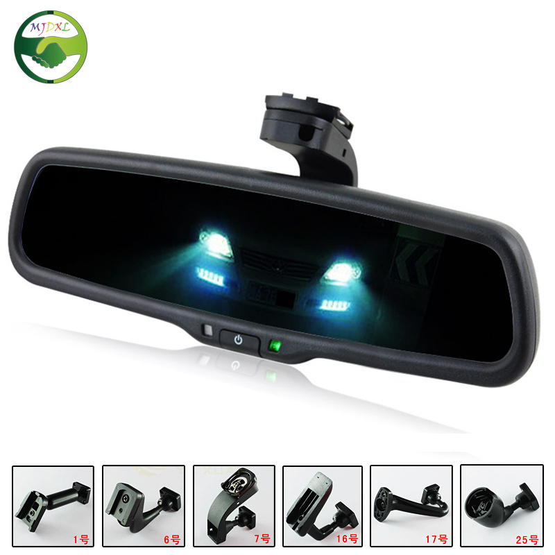 clear view special bracket car electronic auto dimming interior rearview mirror for hyundai ix35. Black Bedroom Furniture Sets. Home Design Ideas