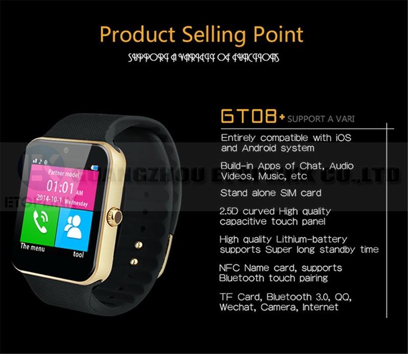 EK-Bluetooth smart watches GT08 (12)