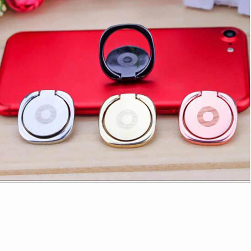 Wangcnagli 360-度回転携帯電話ホルダー iphone × 8 7 サムスン S8 ユニバーサル金属ハンドル携帯電話ホルダー