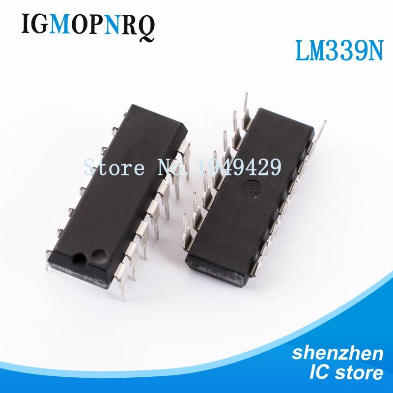 20PCS/Lot LM339 LM339N lm339 New Wholesale Precision Voltage