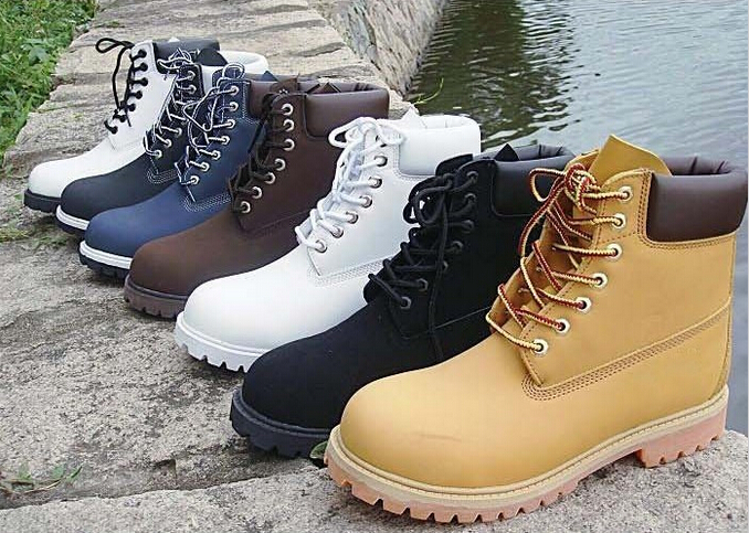 Aliexpress.com : Buy Winter White Cow Leather Boots Cheap Men ...