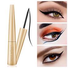 Professional Waterproof Black Eyeliner Pen Super Slim Fast Drying Easy To Wear Long-Lasting Liquid Eyeliner Eye Liner Gel цена в Москве и Питере