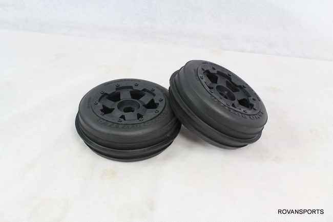 5B baja front sand tyres set 85046-2 wheel hub tire set for HPI Km Rovan front sand buster tyres tire set with nylon wheel 2pcs for baja 5b hpi km rovan