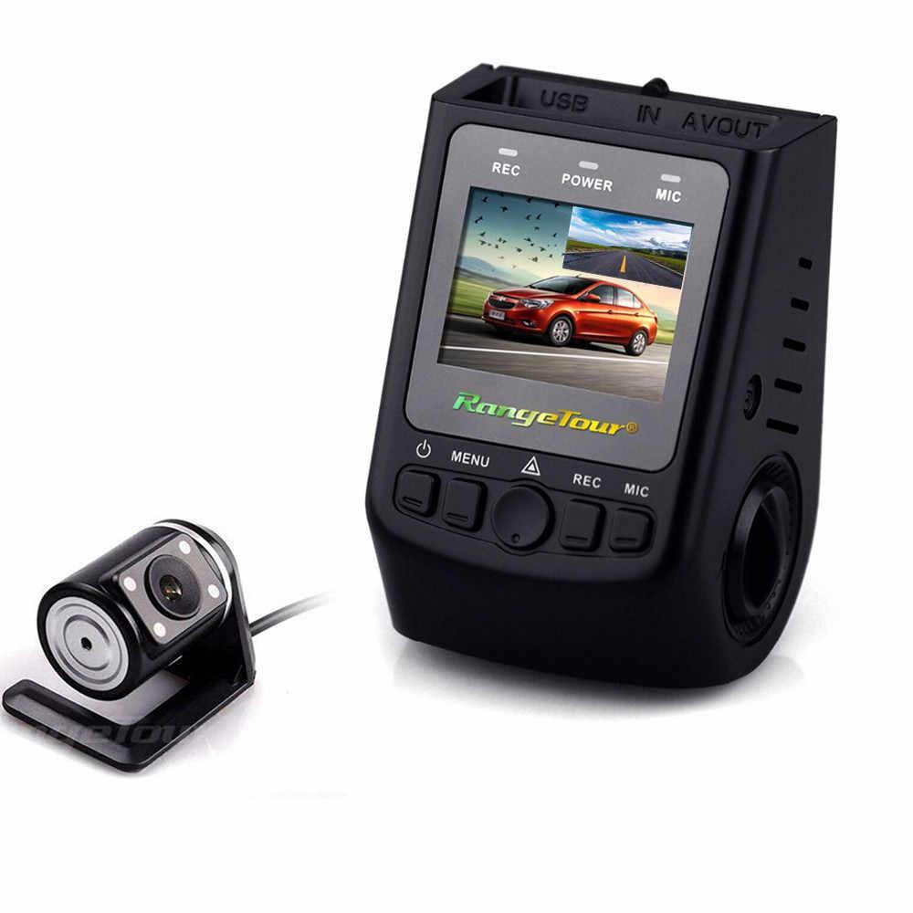 """داش كاميرا عدسة مزدوجة A118C B40 سيارة DVR القيادة ميني كاميرا Dashcam كامل HD 1080 وعاء 170 """"فيديو مسجل مركبة كاميرا خفية"""