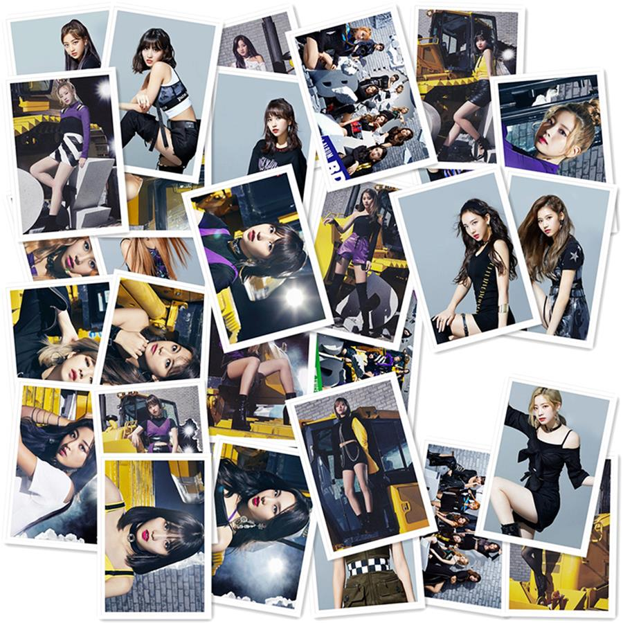 US $7 99 |Kpop Twice 1st Album BDZ Polaroid Lomo Photo Card Collective  Cards Jennie Jisoo HD Photocard 30pcs/set-in Jewelry Findings & Components  from