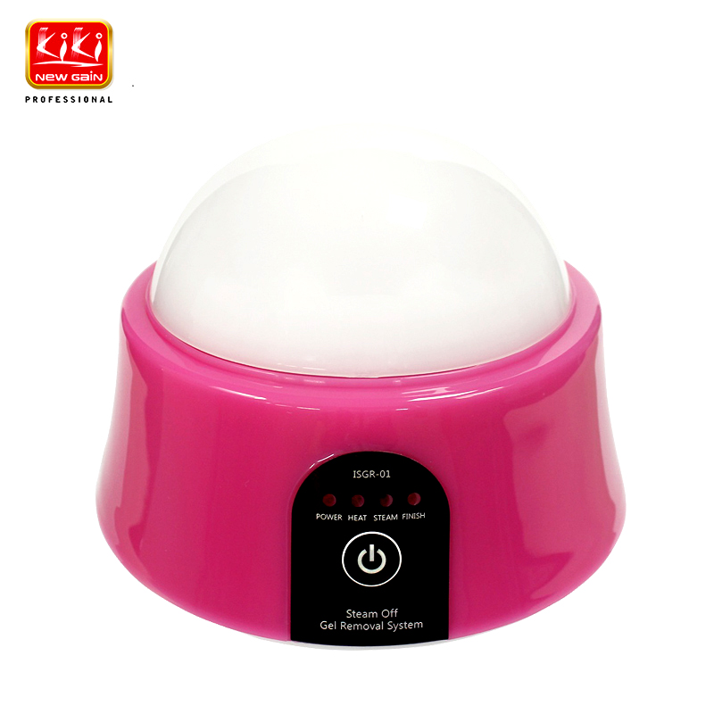 KIKI Beauty world.New Arrival Gel Nail Polish Steam Off Remover Machine Beauty Tools Kits for Home Professional Use жидкость kapous professional nail polish remover 200 мл