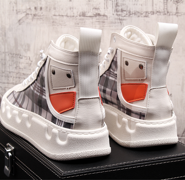 Stephoes Luxury Brand Men Casual Ankle Boots Spring Autumn High Top Men's Vulcanize Comfortable Sneakers Walking Leisure Shoes-in Men's Casual Shoes from Shoes on Aliexpress.com | Alibaba Group 55
