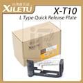 XILETU X-T10 L Type Quick Release Plate Pro Vertical L Bracket The exclusive use of FUJIFILM X-T10 Fuji XT10 camera Grip Handle