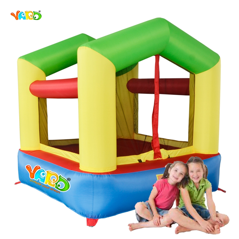 YARD Free Shipping Mini Air Toy Inflatable Bouncer Happy Bouncy Jumper For Baby Kids yard free shipping sea world bouncy castle mini inflatable bouncer with slide for kids play