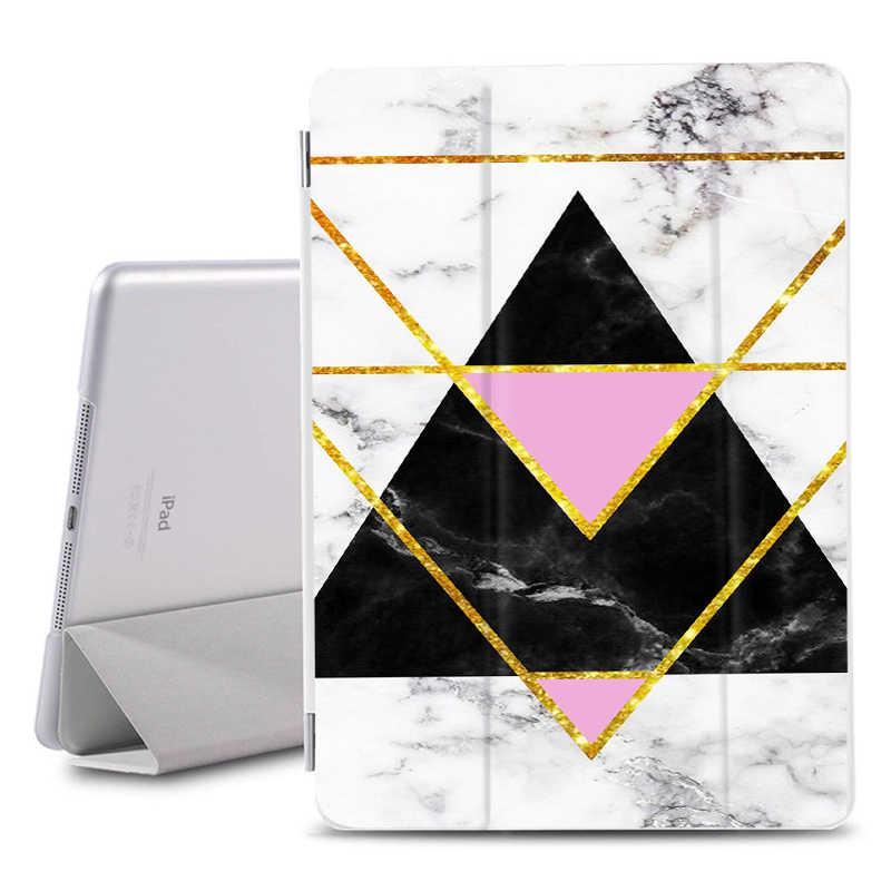 Para Ipad Air 1 2 air 10,5 mármol pintado soporte funda protectora para iPad Air 3 fundas traseras a prueba de golpes