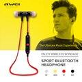Awei A920BL Smart Беспроводной Спорт Наушники Bluetooth 4.1 Стерео Наушники-Вкладыши Голосового Управления с Микрофоном для IOS Android Phone