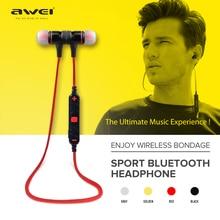 Awei A920BL Smart Wireless Sport Auricular Bluetooth 4.1 Estéreo de Auriculares de botón de Control de Voz con Micrófono para IOS Android Teléfono