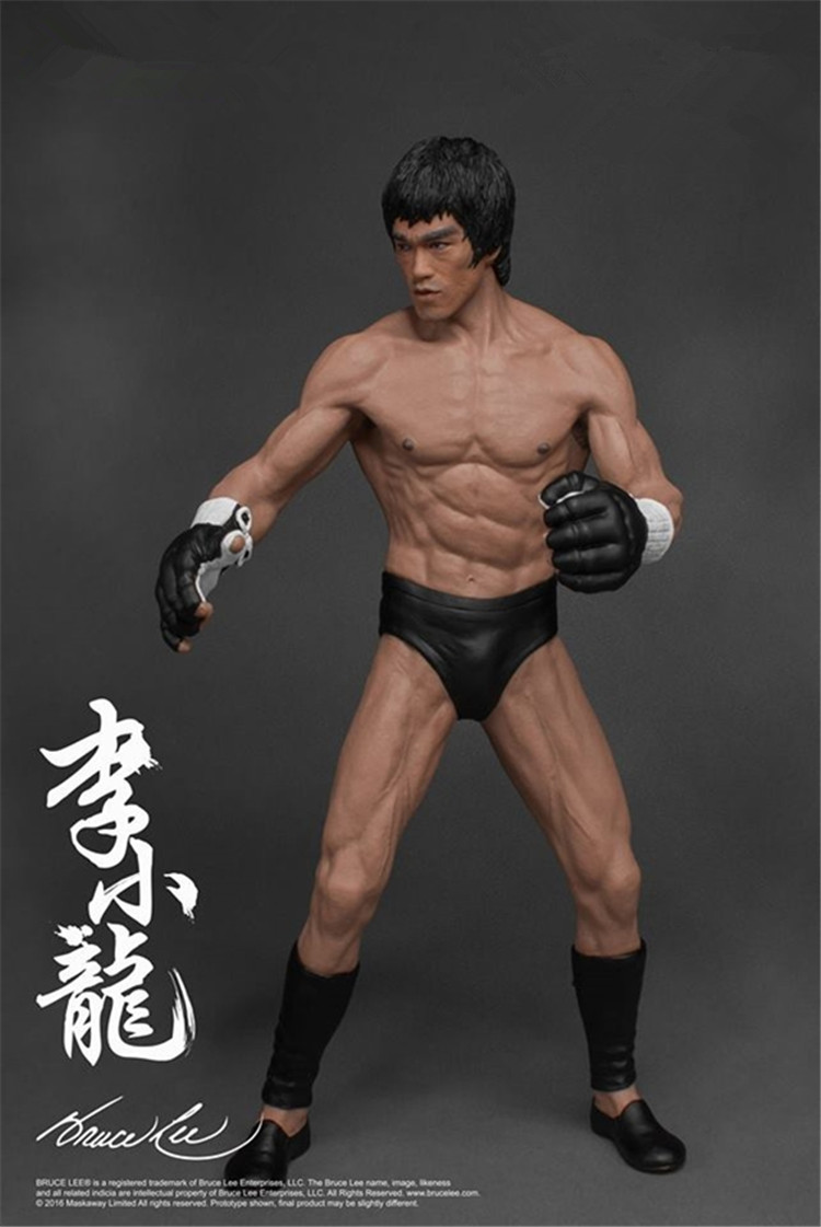 1/12 Scale Model Top Mixed Martial Arts Bruce LEE Model Figure New Arrival image