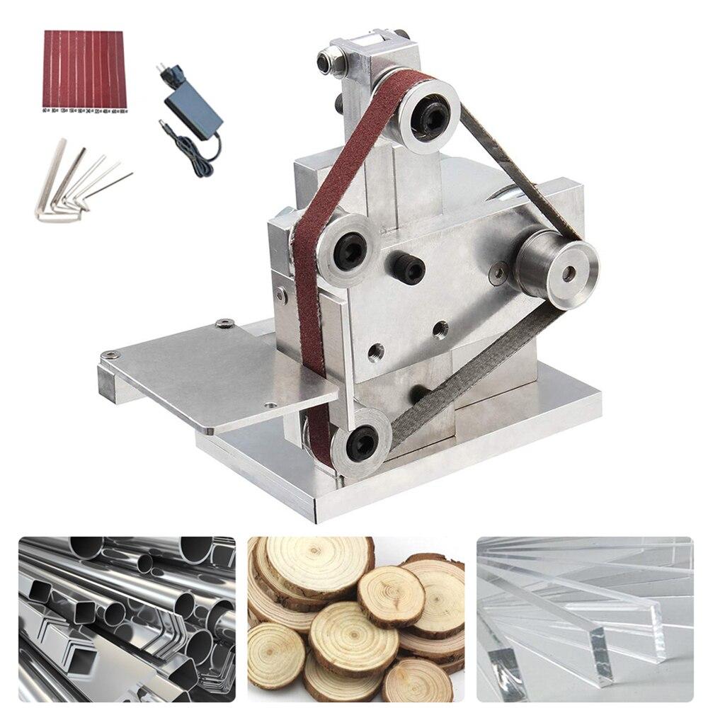 Diy Mini Electric Belt Sander Angle Grinder Polishing