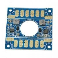 5V 12V ESC Section Board/ with 3-20V Adjustable Voltage and Dual BEC Output for FPV